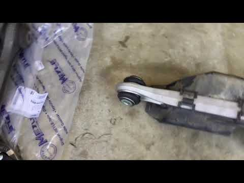 DIY 996 997 Porsche 911 Meyle vs OEM Front Thrust Arm Replacement and RSS Bushing Install