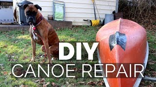 HOW TO: Canoe Keel Repair - HPDE Coleman Fracture