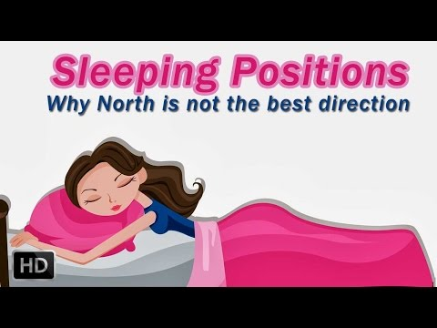 Sleeping Positions And Directions - Why Should We Not Sleep With Our Head Facing North - Hinduism