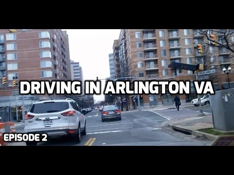 Driving in Arlington, VA -- Episode 2