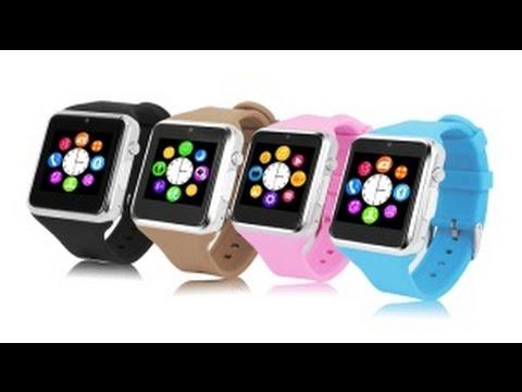 montre tactile pas ch re unboxing zgpax s79 smartwatch. Black Bedroom Furniture Sets. Home Design Ideas