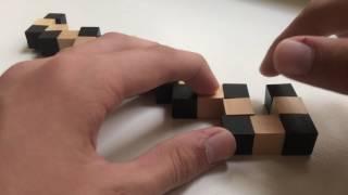 як зробити дерев'яний куб