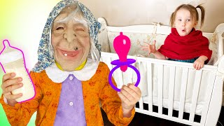Five Kids Strange Nanny Song + More Nursery Rhymes & Children's Songs