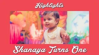 Shanaya Turns One! | Birthday Highlights