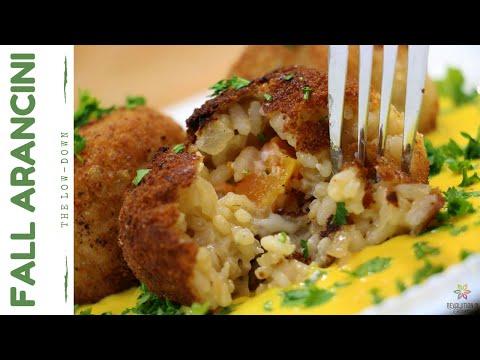 fall-arancini-w/-a-butternut-squash-sauce-|-vegan-recipe