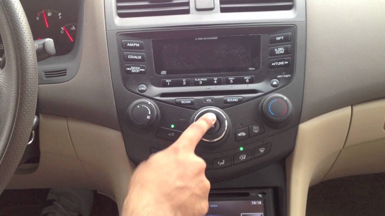 2003 Honda Accord Custom Installed Pioneer AVIC-X940 Navigation System - YouTube