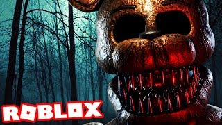 CHASED THROUGH THE WOODS BY FREDDY! | Roblox FNAF (Five Nights at Freddys)