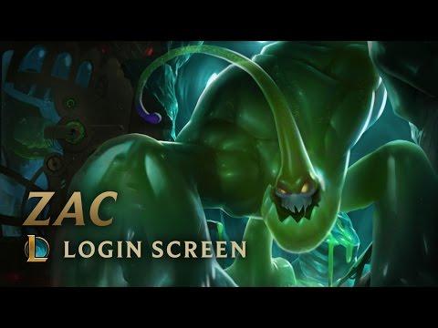 Zac, the Secret Weapon | Login Screen - League of Legends