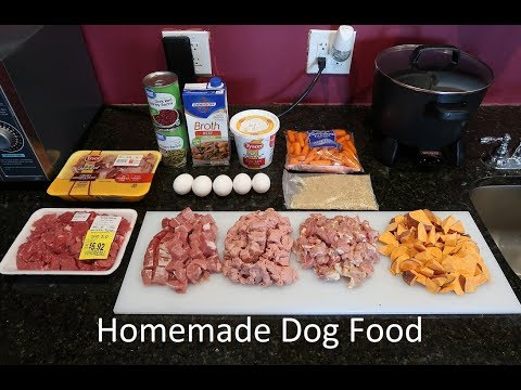 Healthy & Easy Home Made Dog Food Recipe - From A Past Vet Tech!  Recipe #5