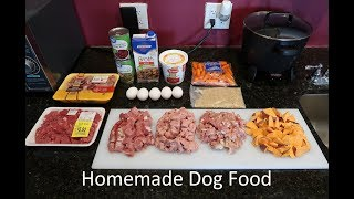 Best Homemade Dog Food Video - From A Past Vet Tech!