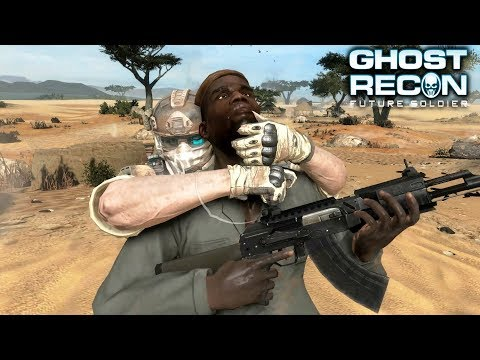Ghost Recon Future Soldier Stealth Infiltration Gameplay