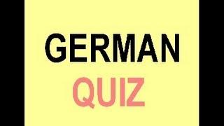 Quiz about the pronunciation of german words!  (Part 1)