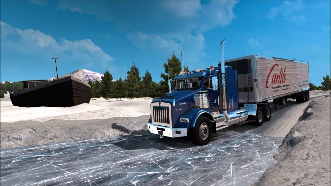 ATS USA Offroad Alaska Map V Official Trailer YouTube - Alaska map usa