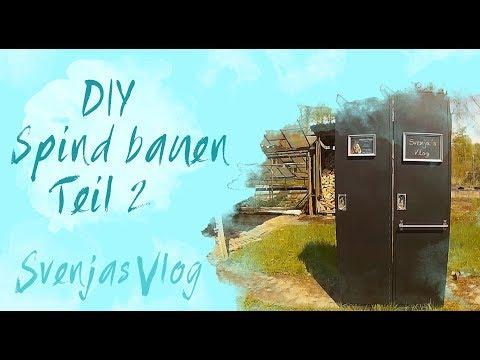 DIY || Spind Selber Bauen || Teil 2 || Svenjas Vlog