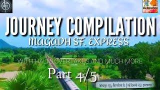 Magadh express full journey from Fatuha to daniyawan jn.. Part4 By INDIAN RAILWAY & TOURISM,ir&t