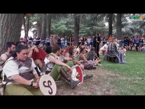 Paso do río Lethes, batalla e desfile 2019