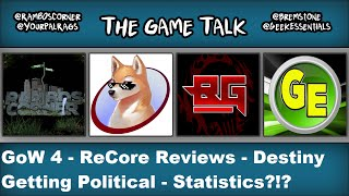 Game Talk Podcast #11 Gears, PS4 Pro, Politics, Oh My!