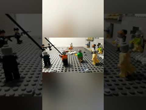 Лего самоделка #39 зомби