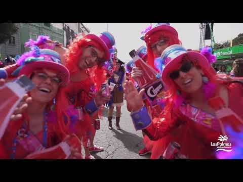 Carnaval de Día en Vegueta. Las Palmas de Gran Canaria. Carnaval 2020