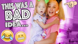 BABYSITTING EVERLEIGH!!...**HILARIOUS** thumbnail
