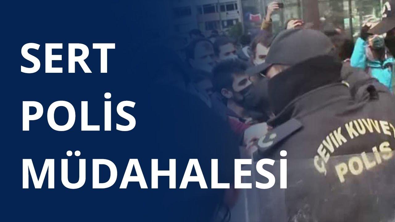 Boğaziçi'ni sadece TELE1 gördü: Öğrencilere polis müdahalesi - GÜN ORTASI  (26 MART 2021)
