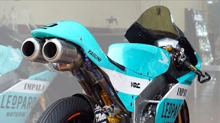 Test sound MOTO 3 Team Leopard 😍🔊