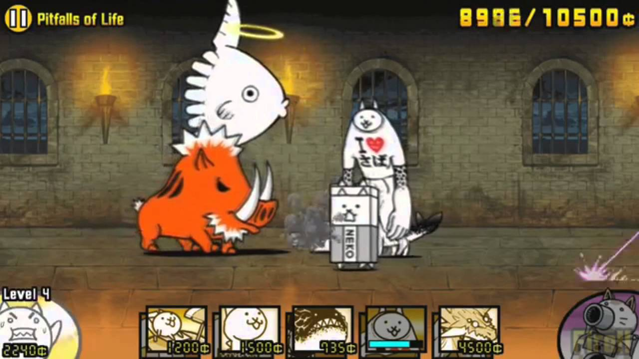 Top 10 Most ANNOYING Battle Cats enemies (outdated)