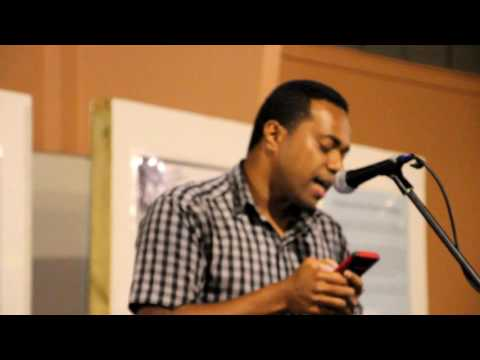 "TUETS [Spoken Word Poet, Fiji] performs ""Purpose for Passion"""