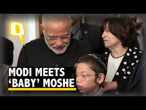 'Baby' Moshe, the Boy Who Survived 26/11 Meets PM Narendra Modi | The Quint