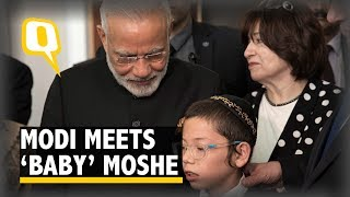 'Baby' Moshe, the Boy Who Survived 26/11 Meets PM Narendra…