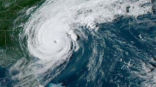 Сравнение размеров ураганов 2018-2019