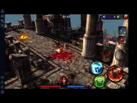Eternity Warriors 3 On Droid4X MAC OSX