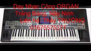"""Nửa Vầng Trăng - Quang Lê """" Đào Tạo Nhạc Công Organ, Guitar Thầy TRƯỜNG 01675575377"""