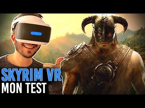 SKYRIM VR, MON TEST SUR PLAYSTATION VR