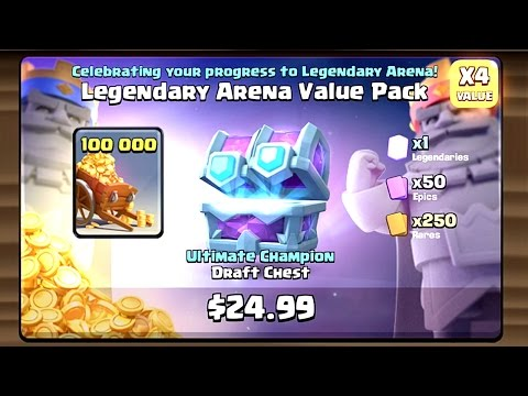 Clash Royale - INSANE SPECIAL OFFER! Big Draft Chest