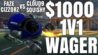 $1000 1V1 WAGER AGAINST FAZE CIZZORZ (BEST OF 5) | INSANE FLICK | I HAVE TO USE THE SCARAB
