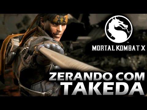 Mortal Kombat X - Zerando com TAKEDA