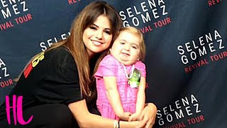 Selena Gomez Dances With 7 Year Old Superfan Audrey Nethery