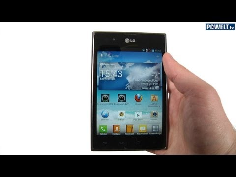 Smartphone im 4:3-Format: LG Optimus Vu im Test-Video