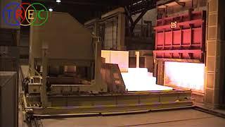 Temple de test de una instalación de tratamiento térmico automática de titanio