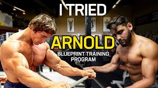 I Tried Arnold Schwarzenegger's Blueṗrint Training Program