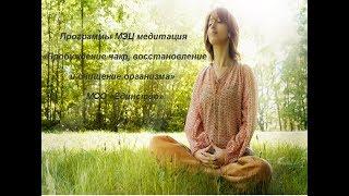 Программы МЭЦ медитация  Пробуждение чакр, восстановление и очищение организма   Единство