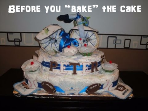 Diaper Cake Ideas For Beginners Learn How To Pick A Theme For Diaper