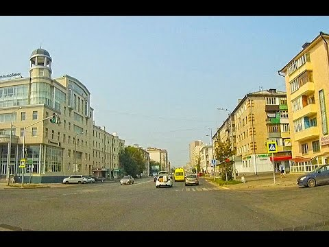 Kazan City 2016 | Driving through the streets - dash cam video