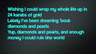 Big Sean ft. J Cole - 24K of Gold (Lyrics on Screen) [DETROIT\