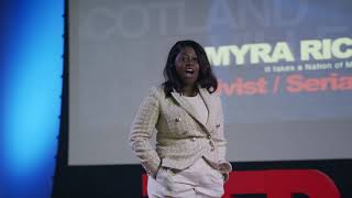 Why you deserve a seat at the table   Myra Richardson   TEDxScotlandville