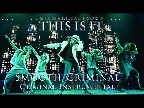 Michael Jackson This Is It 2009 Smooth Criminal ORIGINAL INSTRUMENTAL !!!RARE!!!