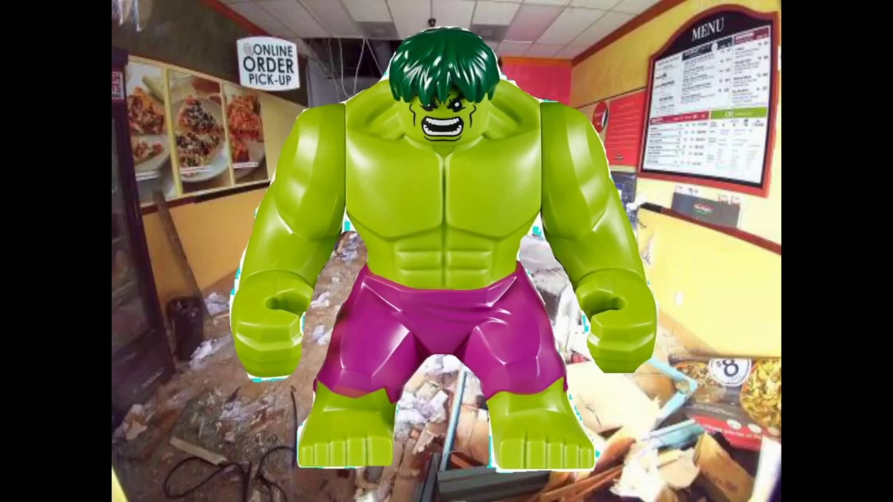 Pizza Time! (with Hulk)