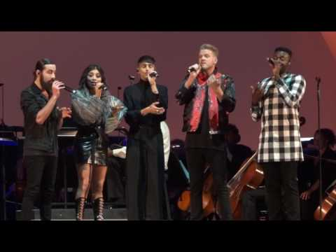 Pentatonix – Can't Help Falling in Love  – Hollywood Bowl Los Angeles, CA 7-3-2017