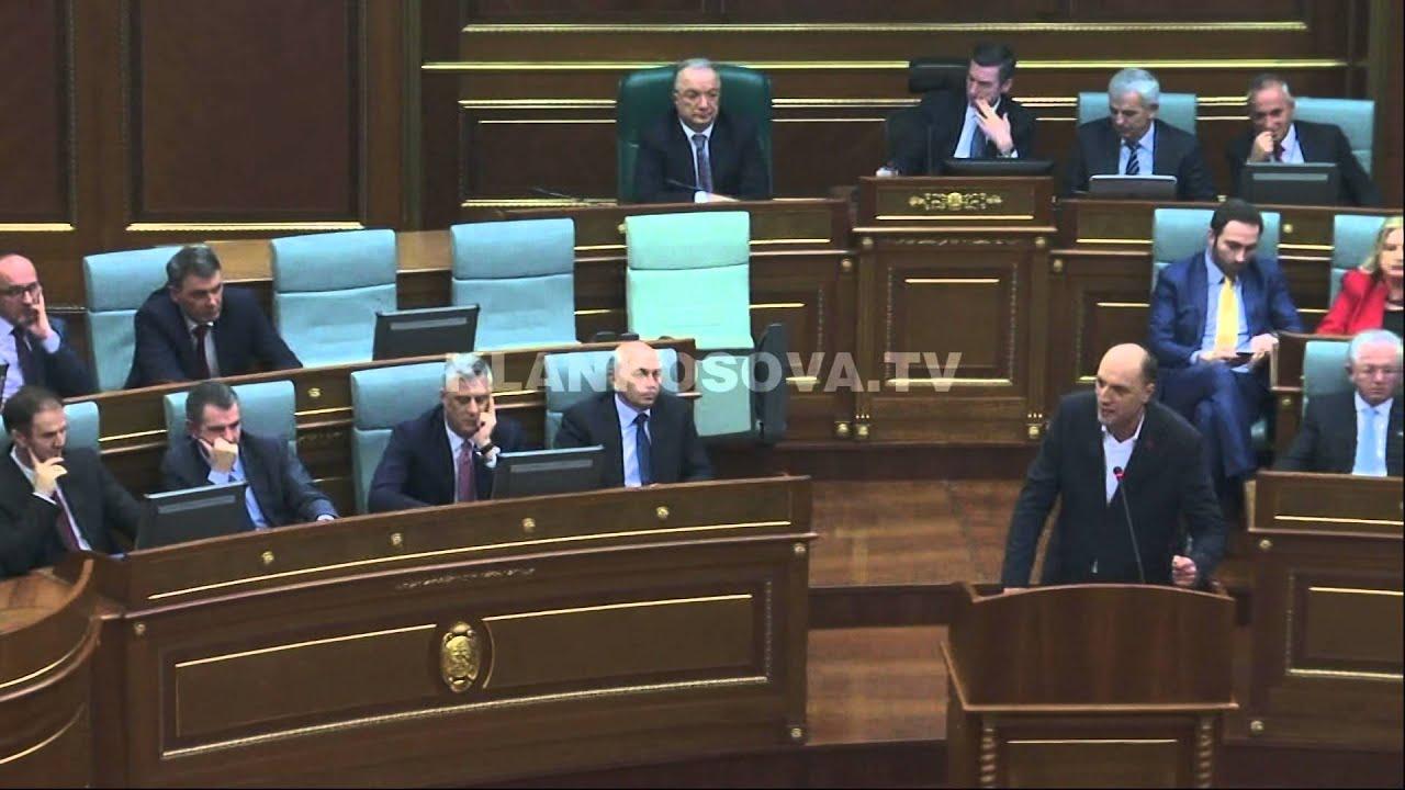 Fjalimi i Visar Ymerit ne Kuvend - 26.02.2016 - Klan Kosova